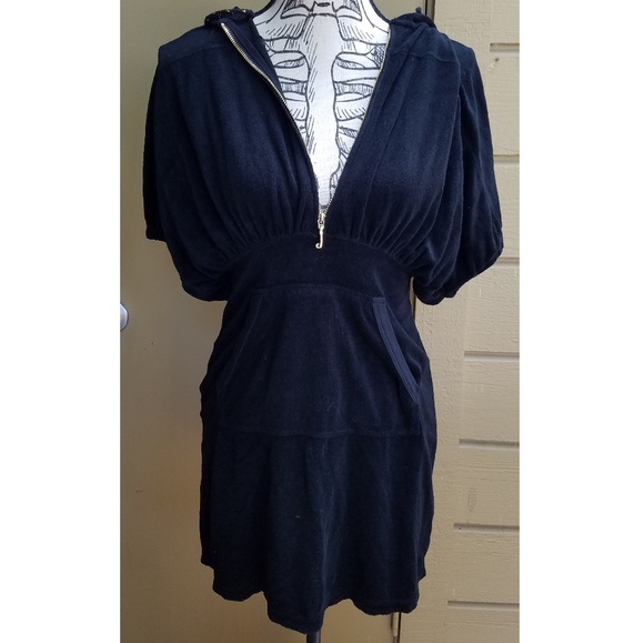 4daaa2732a Juicy Couture Terry Cloth Hooded Dress